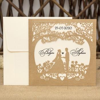 İklim Wedding Davetiye 8325