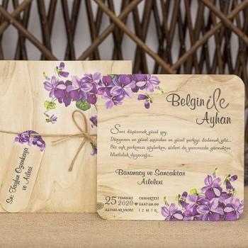 İklim Wedding Davetiye 8335