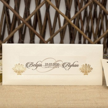 İklim Wedding Davetiye 8337