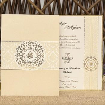 İklim Wedding Davetiye 8342