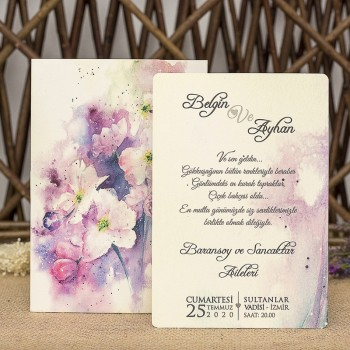 İklim Wedding Davetiye 8344