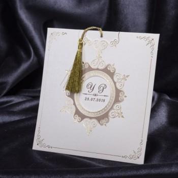 İklim Wedding Davetiye 8235