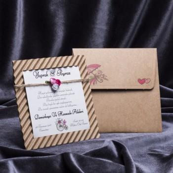 İklim Wedding Davetiye 8277